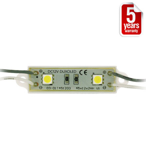 <li> Duxoled LED modules<br><li> Verkrijgbaar in 6 kleuren