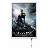 <li> Double sided snapframe with LED lighted backing<br><li> Most interesting for clear presentations<br><li> Snapframe 25 mm silver anodised<br><li> On and Off Key on one side<br><li> Incl. adapter 220 - 230V