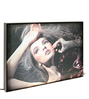 <li> Maxi Frame with LED lights<br><li> Available in all standard A and B sizes