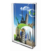 <li> Folderhouder acrylaat voor wandmontage.<br><li> Leverbaar in 4 verschillende formaten.