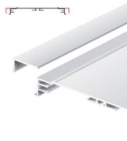 Light advertising profile 200 mm anodized