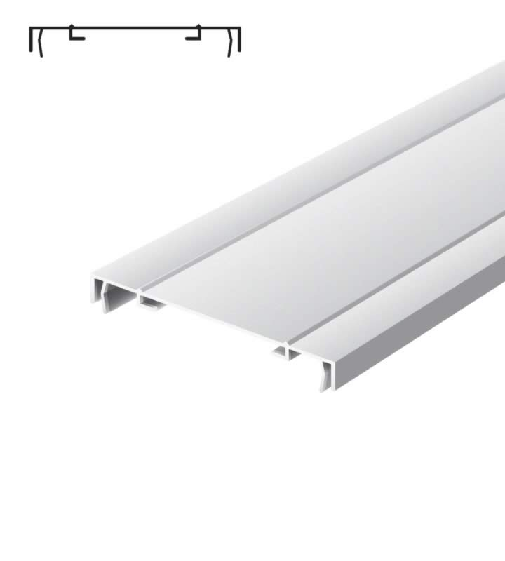 Light advertising profile 170 mm 2 frames anodized