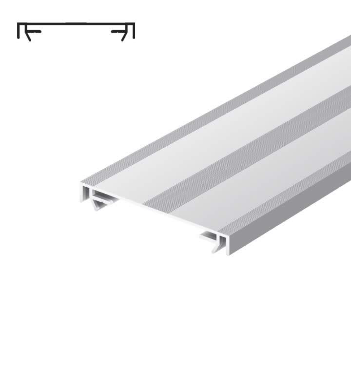 Profil pour construire un publicité lumineuse (100 mm) standard Brut