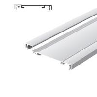 Lichtreclame profiel 170 mm standaard met 1 lijst Brut