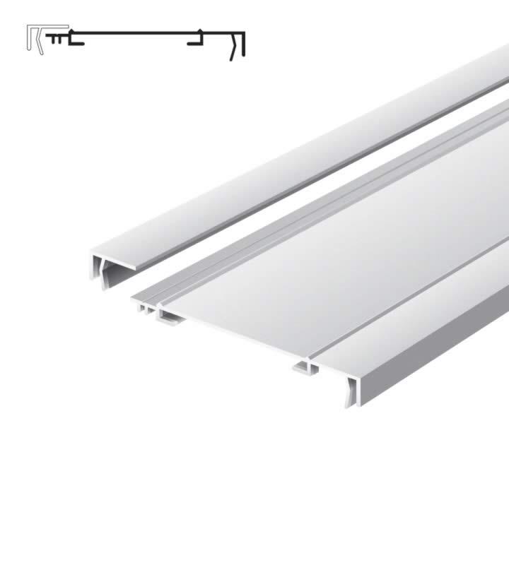 Light advertising profile 170 mm 1 frame brut
