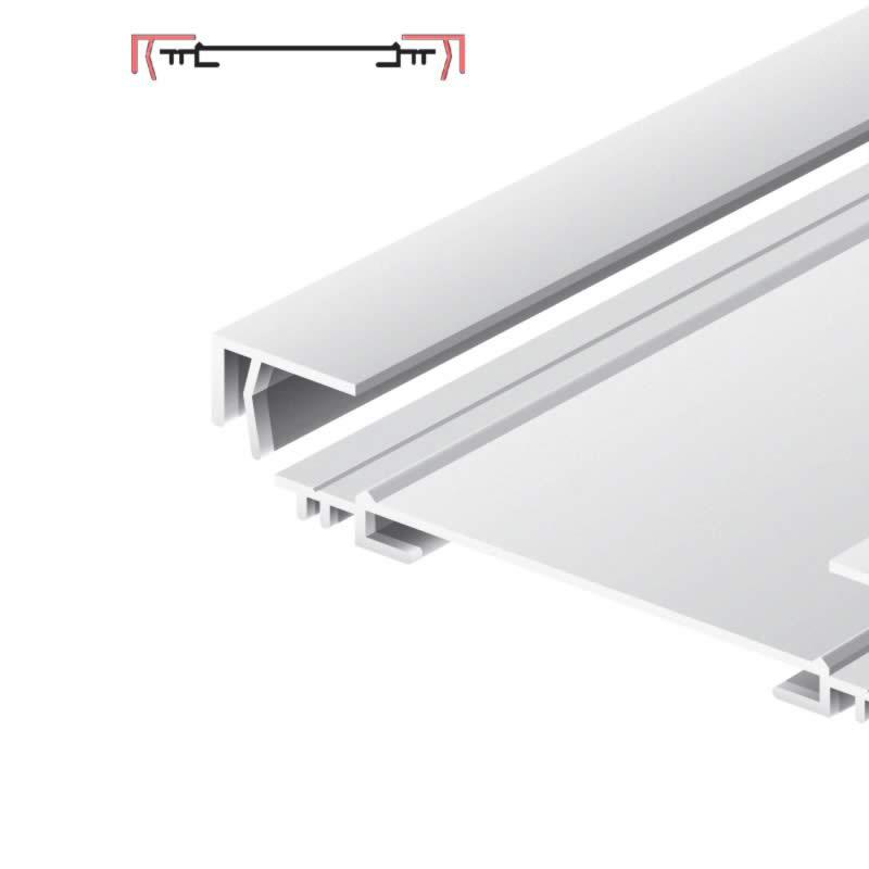 Light advertising profile 170 mm brut