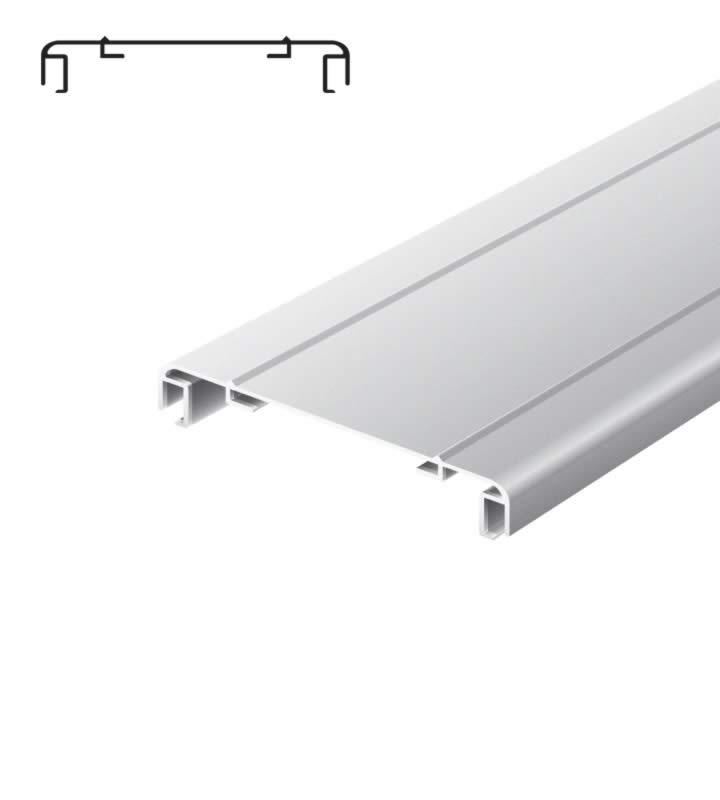 Lichtreclame profiel 170 mm softline 2 lijsten geanodiseerd