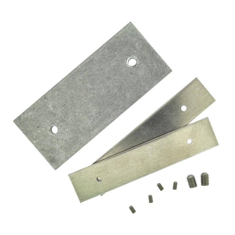 Kupplungsstück Aluminium für Lichttunnel