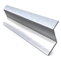 Aluminium Z profiel 14x8x14x2 mm lengte 5000 mm