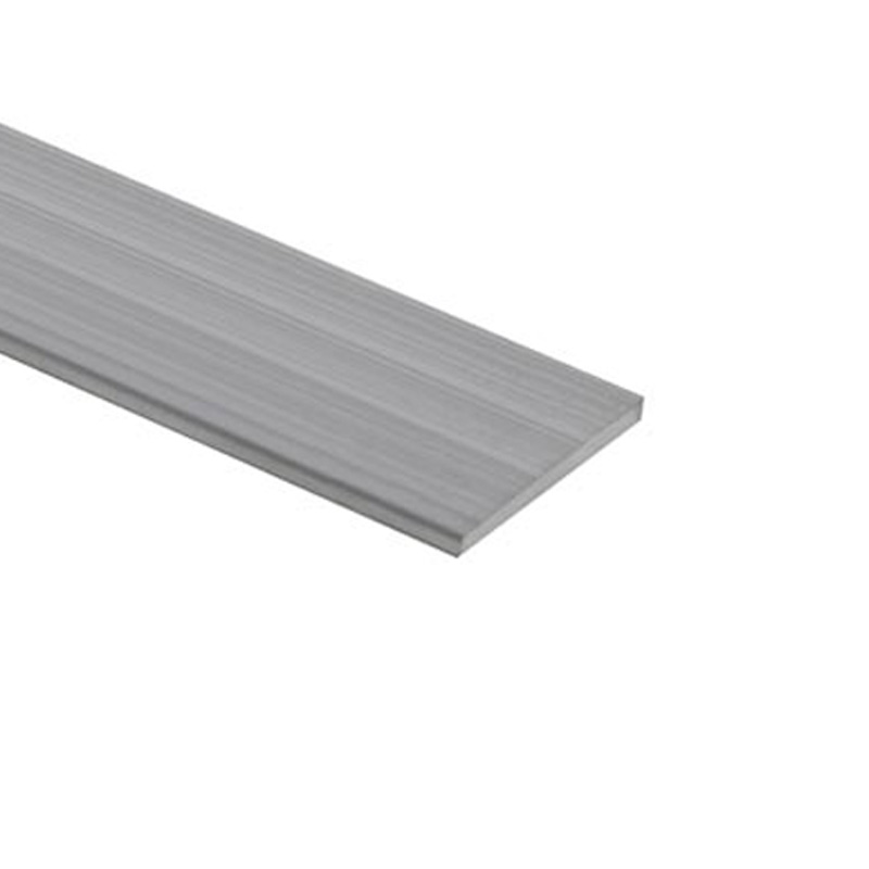 Aluminium strip 50 x 5 mm mill finish