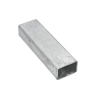 Support profile aluminum 60 x 30 x 2 mm