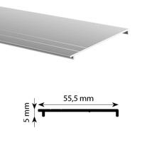 Kaderloos spanprofiel afdekking Alu-Smart 81 en 130 mm