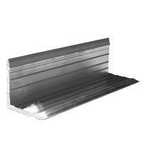 Corner part 50 x 50 x 5 mm for 200 mm standard profile
