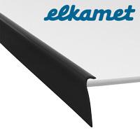 Profile l23-700 black RAL 9005