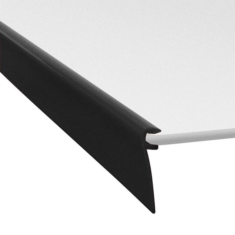 Profile s489-700 black RAL 9005