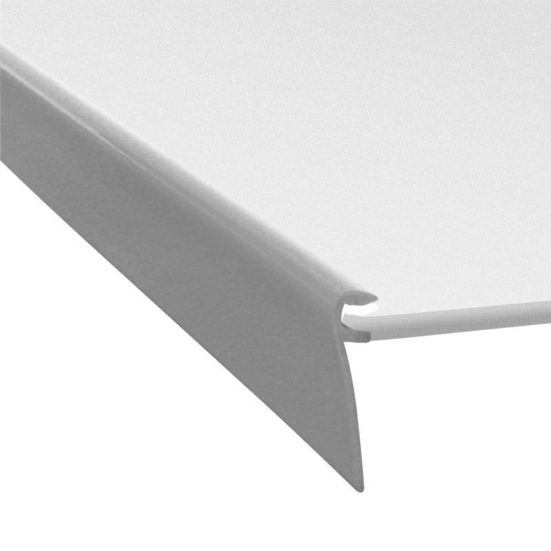 Profile l23-100 silver mat RAL 9022