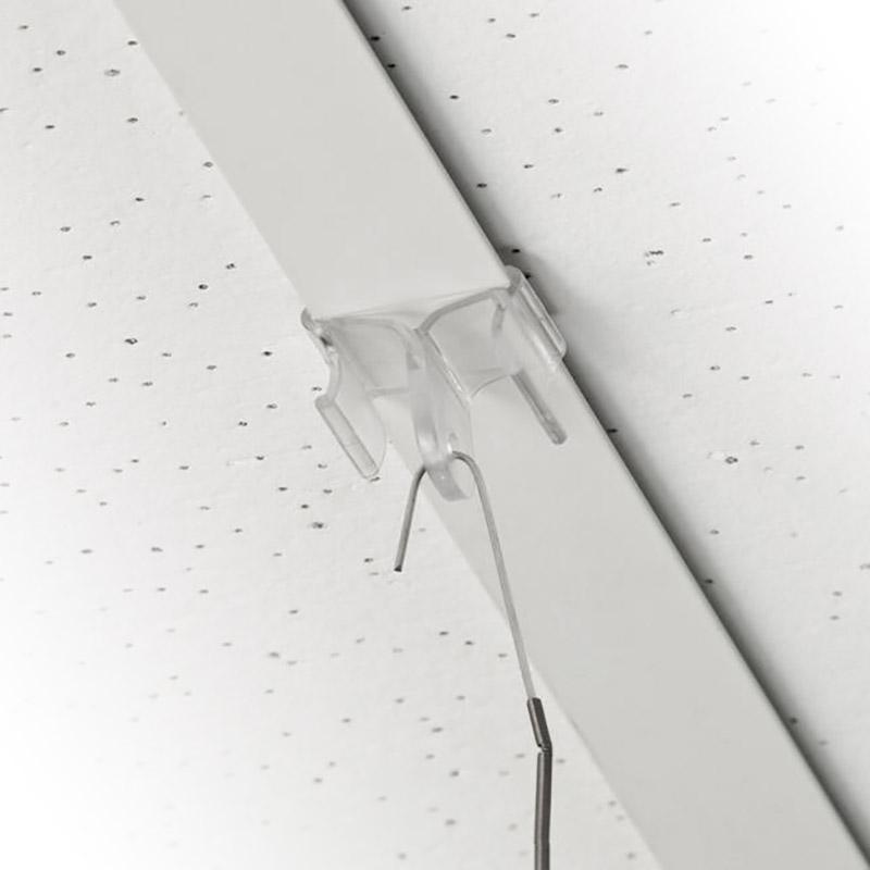 Plafondclip voor ophangen van posters