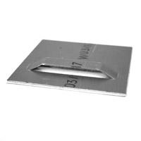 Cintre de plaque auto-adh?sif 70 x 70 mm
