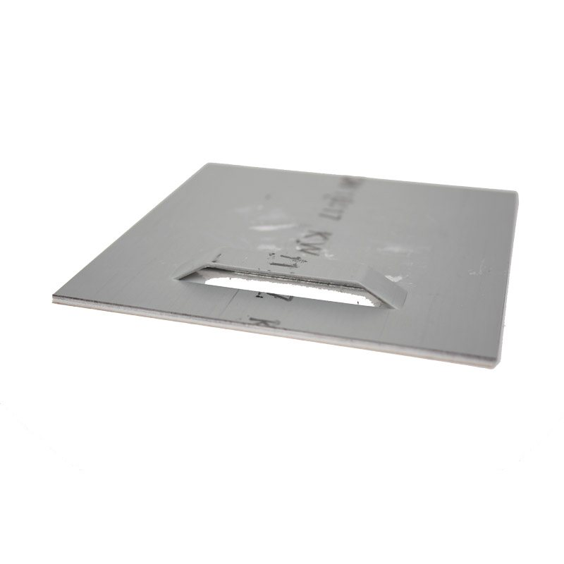 Adhesive plate hanger 100 x 100 mm
