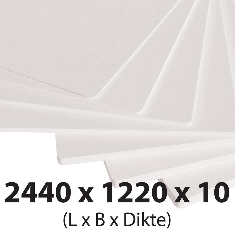 Plastech foamed pvc 10 mm 1220 x 3050 mm