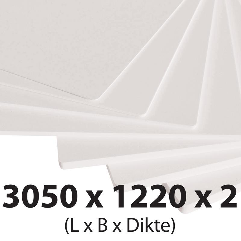 Plastech foamed pvc 2 mm 1220 x 3050 mm