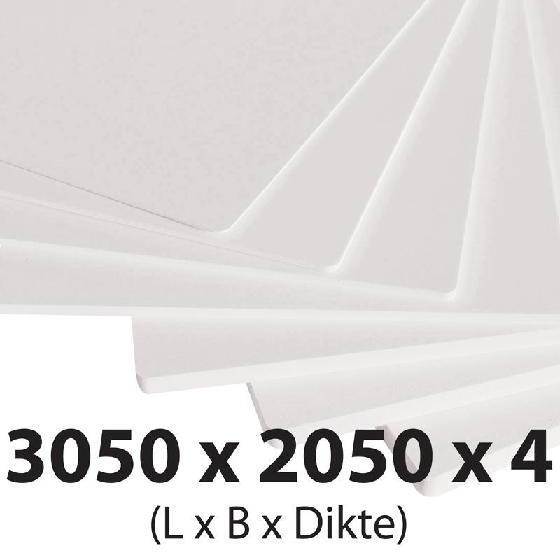 Plastech foamed pvc 4 mm 2050 x 3050 mm