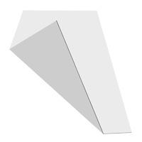 MGBond zilver / wit mat 3 mm ALU dikte 0,21 mm 2440 x 1220 mm