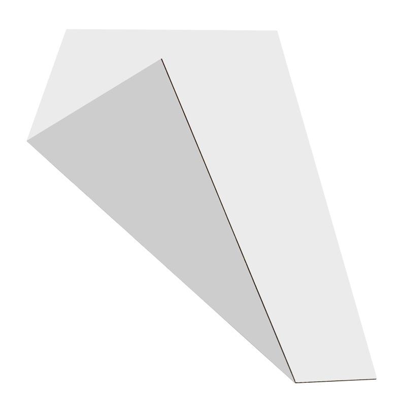 MGBond zilver/wit mat 3 mm 2440 x 1220 mm
