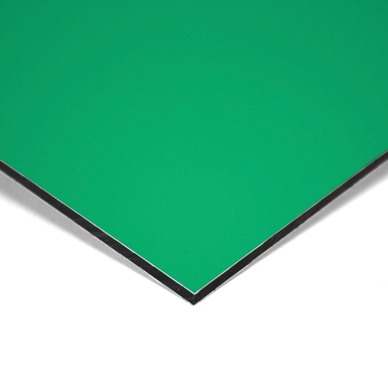 Composite panel green 3 mm 305 x 150 cm ø 0.21