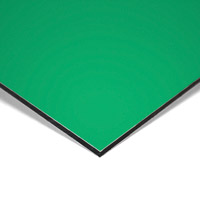 MGBond groen glans / groen mat 3 mm ALU dikte 0,21 mm 3050 x 1500 mm