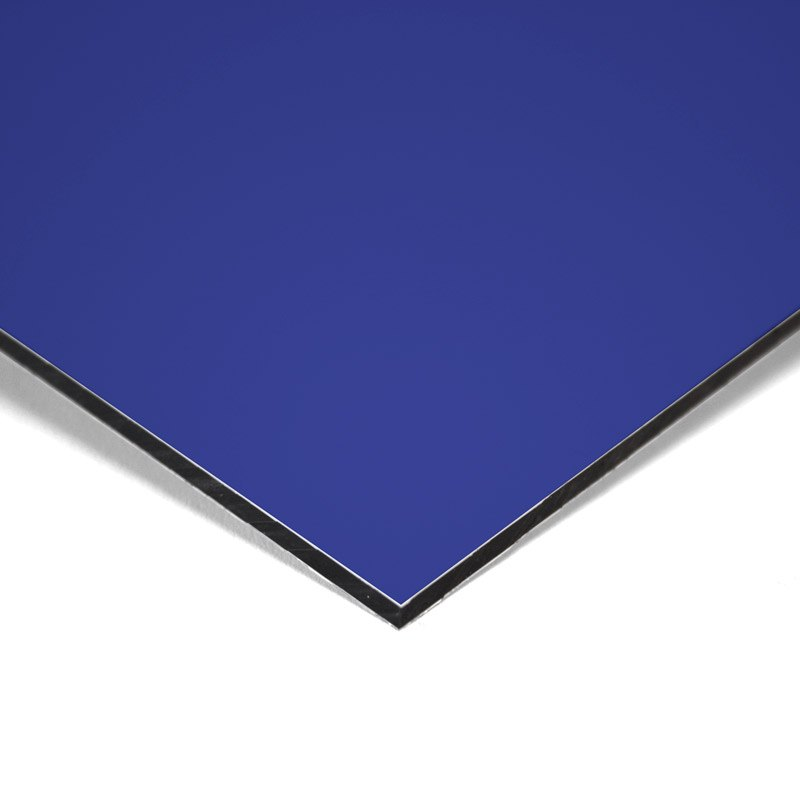 Composite panel blue 3 mm 305 x 150 cm ø 0.21