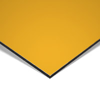 MGBond geel 3050 x 1500 x 3 mm