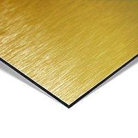 MGBond geborsteld goud 3050 x 1500 x 3 mm