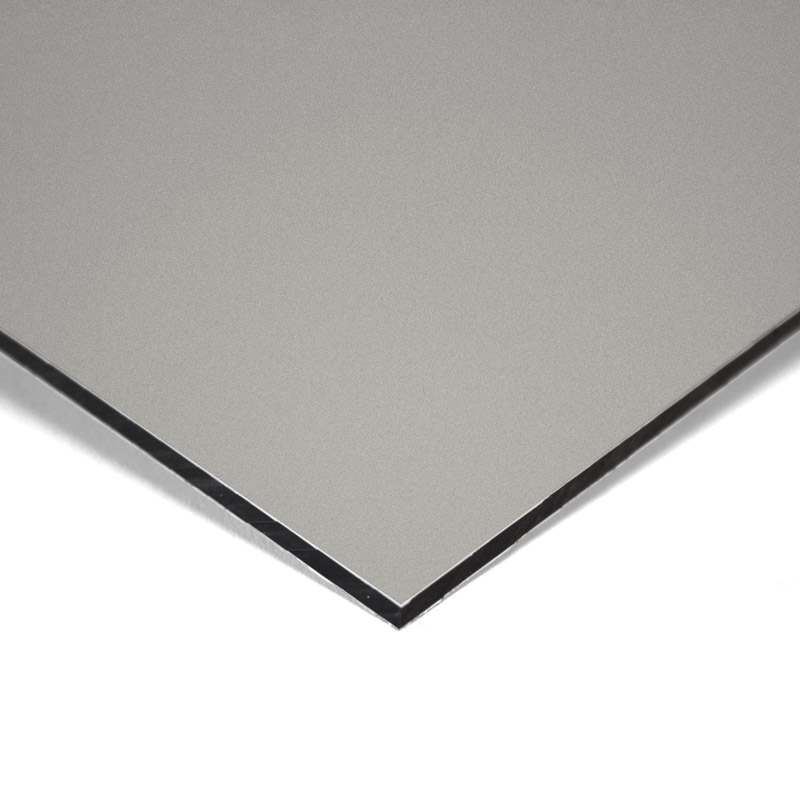 Composite panel silver 3 mm 305 x 150 cm ø 0.21