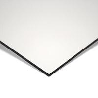 MGBond aluminium composietplaat wit/wit/mat 8010 RAL9016 dikte 3 mm ALU dikte 0,21 mm  Plaatmaat 3050 x 1500 mm