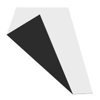 MGBond aluminium composietplaat zwart/wit/mat 8010/8020  RAL9017/9016 dikte 3 mm ALU dikte 0,21 mm  Plaatmaat 3050 x 1500 mm