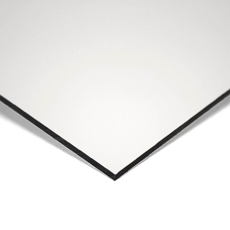 MGBond Lite wit / wit mat 2 mm ALU dikte 0,15 mm 2440 x 1220 mm