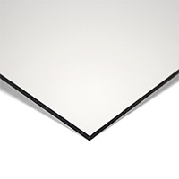 MGBond aluminium composietplaat Lite wit/wit/mat 8010 RAL9016 dikte 3 mm ALU dikte 0,15 mm Plaatmaat 2440 x 1220 mm