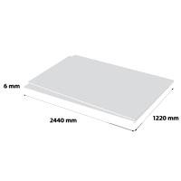 Plastech geschuimd PVC 6 x 1220 x 2440 mm