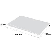 Plastech geschuimd PVC 19 x 1560 x 3050 mm