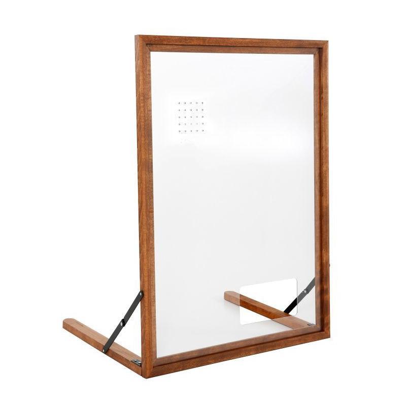 Preventiescherm houten frame A1