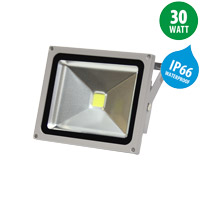 235 x 190 x 130 mm led floodlight ip66 30w 2400lm