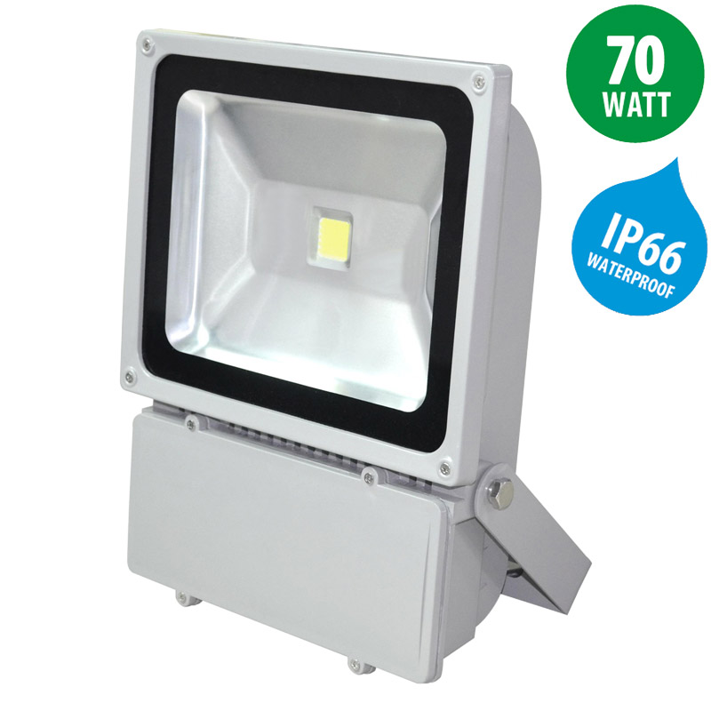 LED floodlight 70 Watt