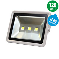 470 x 360 x 250 mm led floodlight ip66 120w 9600lm