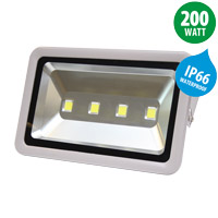 580 x 380 x 250 mm led floodlight ip66 200w 16000lm