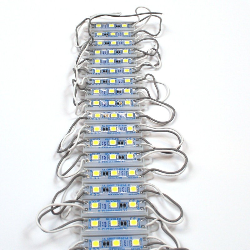 LED block 3 LEDs High-Power, green