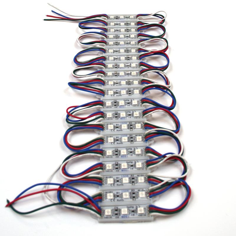 LED block 3 LEDS High-Power, RGB
