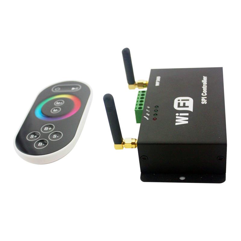 Draadloze WiFi aansturing RGB 5000 mm. universeel t.b.v. LED ...