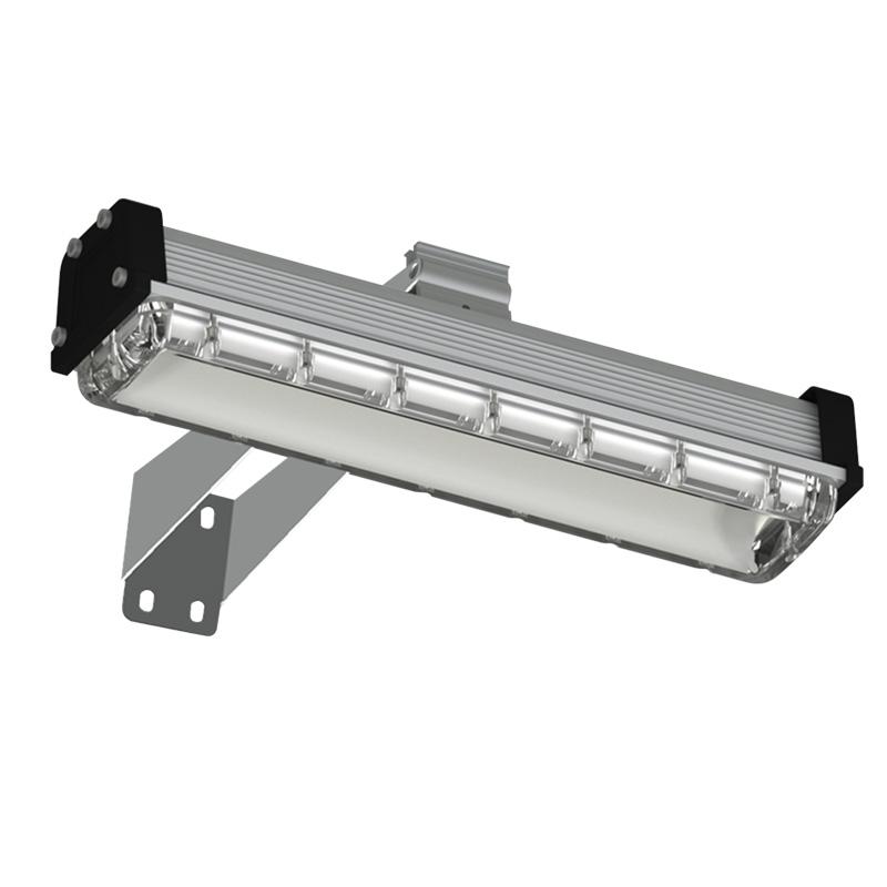 LED-sign asymmetrische schijnwerper Warm Wit
