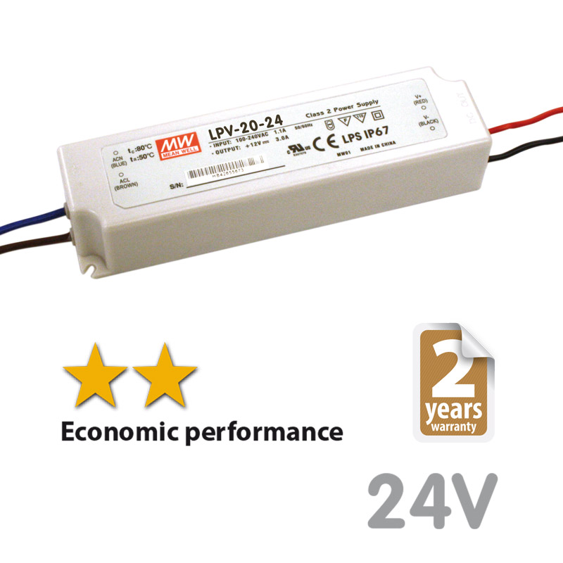 Trafo 20w-24dc voltage